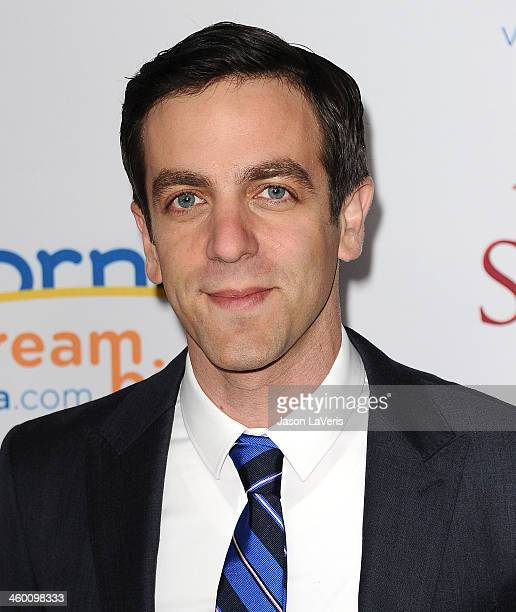 Actor BJ Novak attends the premiere of 'Saving Mr Banks' at Walt Disney Studios on December 9 2013 in Burbank California