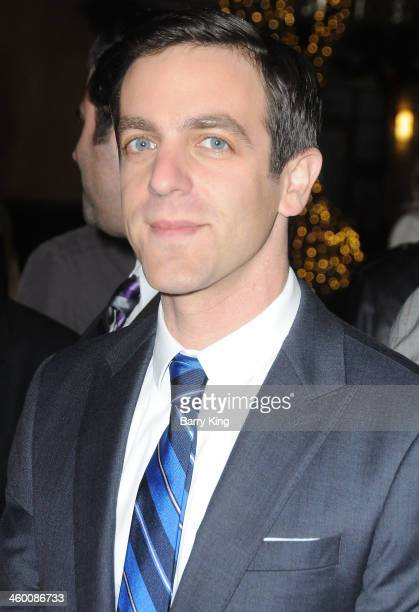 Actor BJ Novak attends the premiere of 'Saving Mr Banks' on December 9 2013 at Walt Disney Studios in Burbank California