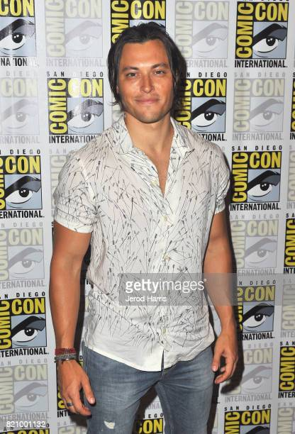Actor Blair Redford at 'The Gifted' Press Line during ComicCon International 2017 at Hilton Bayfront on July 22 2017 in San Diego California