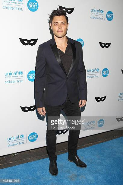 Actor Blair Redford at the UNICEF Next Generation Third Annual UNICEF Black White Masquerade Ball benefiting UNICEF's lifesaving programs including...