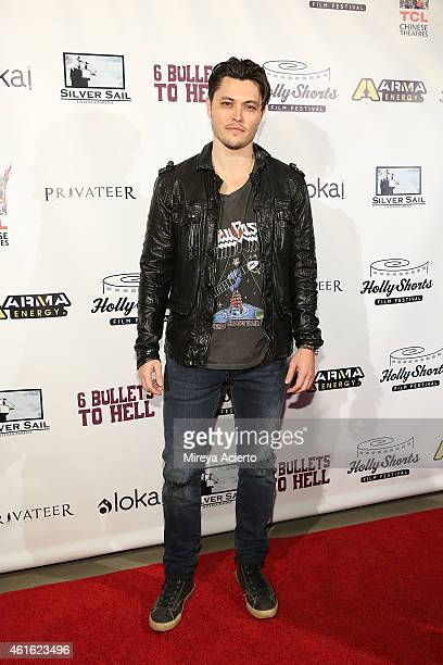 Actor Blair Redford attends '6 Bullets To Hell' Los Angeles Premiere at TCL Chinese Theatre on January 15 2015 in Hollywood California