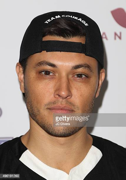 Actor Blair Redford attends Adrian Gonzalez's Bat 4 Hope Celebrity Softball Game PADRES Contra El Cancer at Dodger Stadium on November 7 2015 in Los...