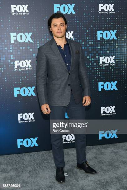 Actor Blair Redford attends the 2017 FOX Upfront at Wollman Rink on May 15 2017 in New York City