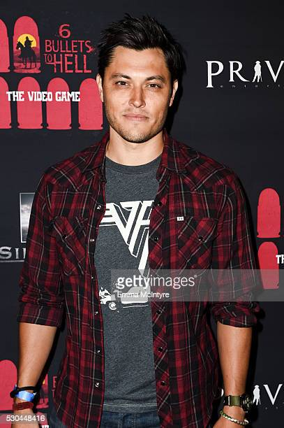 Actor Blair Redford attends the launch of '6 Bullets to Hell' on May 10 2016 in Los Angeles California
