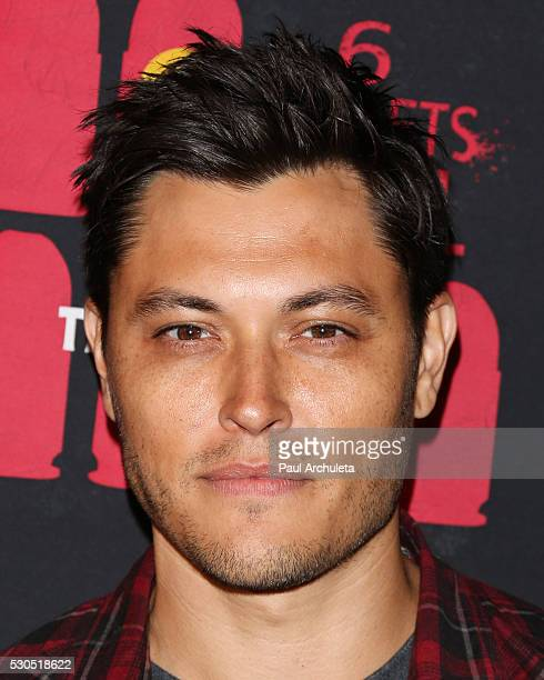 Actor Blair Redford attends the launch of '6 Bullets To Hell' the video game and the movie on May 10 2016 in Los Angeles California