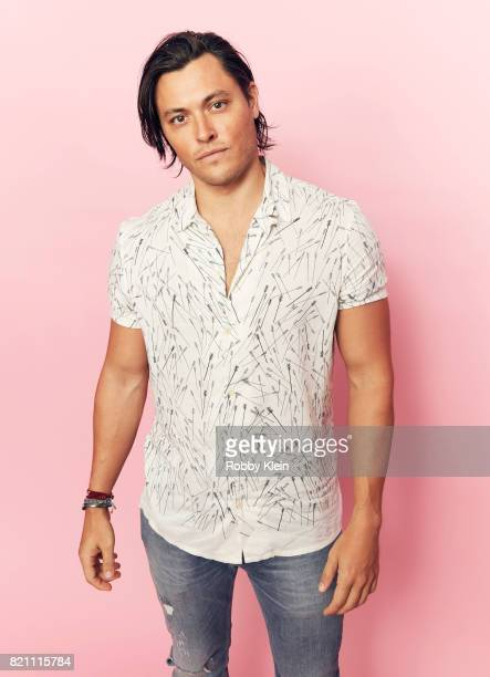 Actor Blair Redford from FOX's 'The Gifted' poses for a portrait during ComicCon 2017 at Hard Rock Hotel San Diego on July 22 2017 in San Diego...