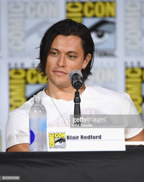 Actor Blair Redford onstage at ComicCon International 2017 'The Gifted' Extended Sneak Peek at San Diego Convention Center on July 21 2017 in San...