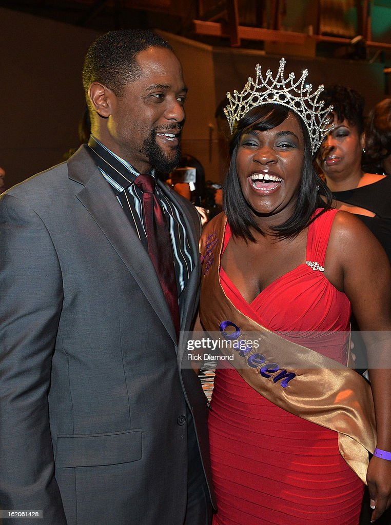 Actor Blair Underwood and Ashley Jones attend Bronner Bros. ICON Awards Presented By Clairol - Show on February 18, 2013 in Atlanta, Georgia. United States.
