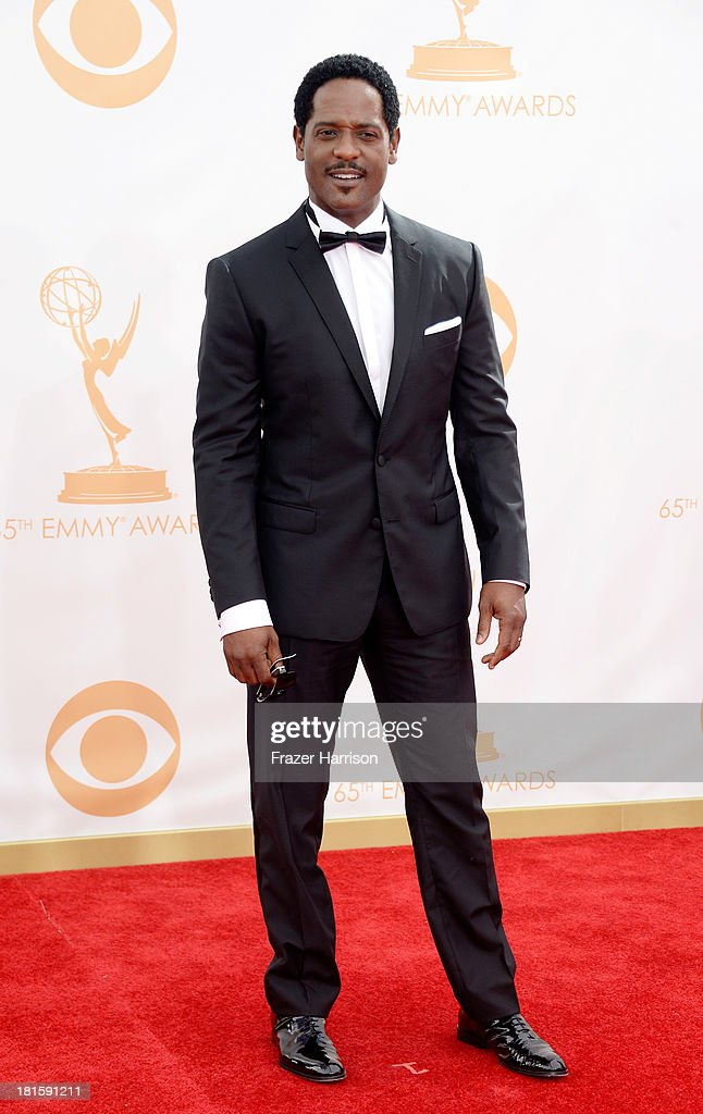 Actor Blair Underwood arrives at the 65th Annual Primetime Emmy Awards held at Nokia Theatre LA Live on September 22 2013 in Los Angeles California