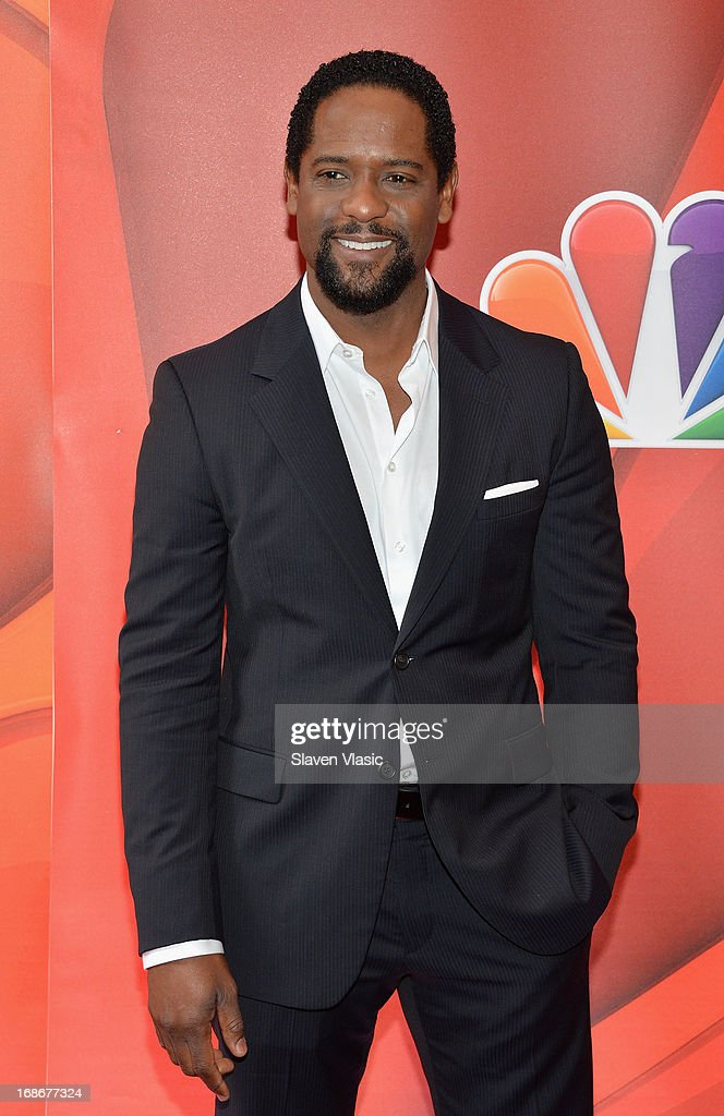 Actor Blair Underwood attends 2013 NBC Upfront Presentation Red Carpet Event at Radio City Music Hall on May 13, 2013 in New York City.