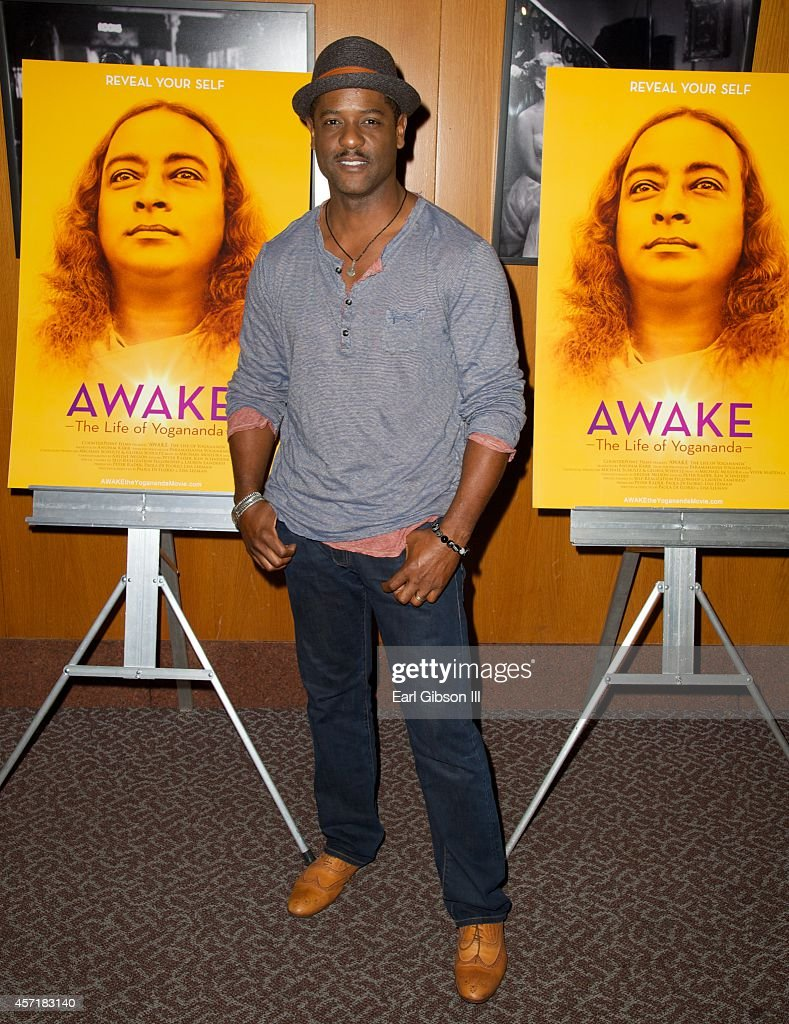 Actor <a gi-track='captionPersonalityLinkClicked' href=/galleries/search?phrase=Blair+Underwood&family=editorial&specificpeople=215367 ng-click='$event.stopPropagation()'>Blair Underwood</a> attends 'AWAKE: The Life Of Yogananda'-Los Angeles Premiere at DGA Theater on October 13, 2014 in Los Angeles, California.