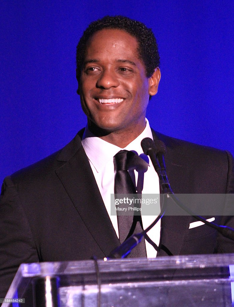 Actor <a gi-track='captionPersonalityLinkClicked' href=/galleries/search?phrase=Blair+Underwood&family=editorial&specificpeople=215367 ng-click='$event.stopPropagation()'>Blair Underwood</a> on stage at the Faithful Central Bible Church Event on October 19, 2012 in Century City, California.