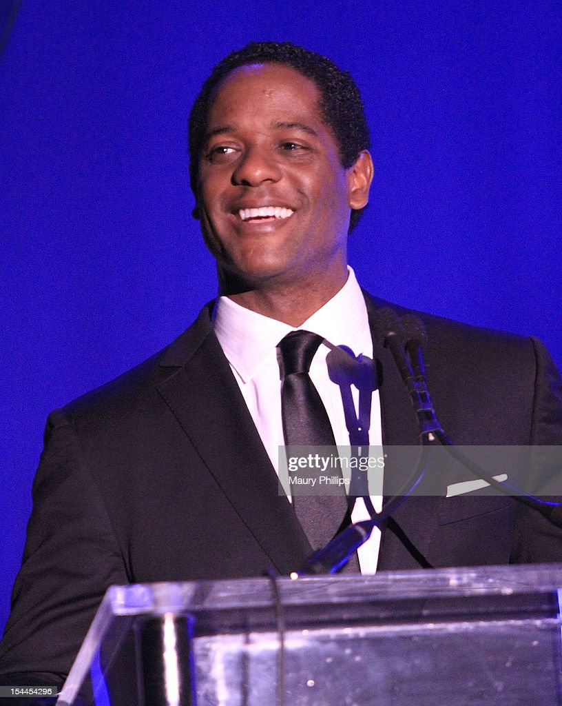 Actor Blair Underwood on stage at the Faithful Central Bible Church Event on October 19, 2012 in Century City, California.