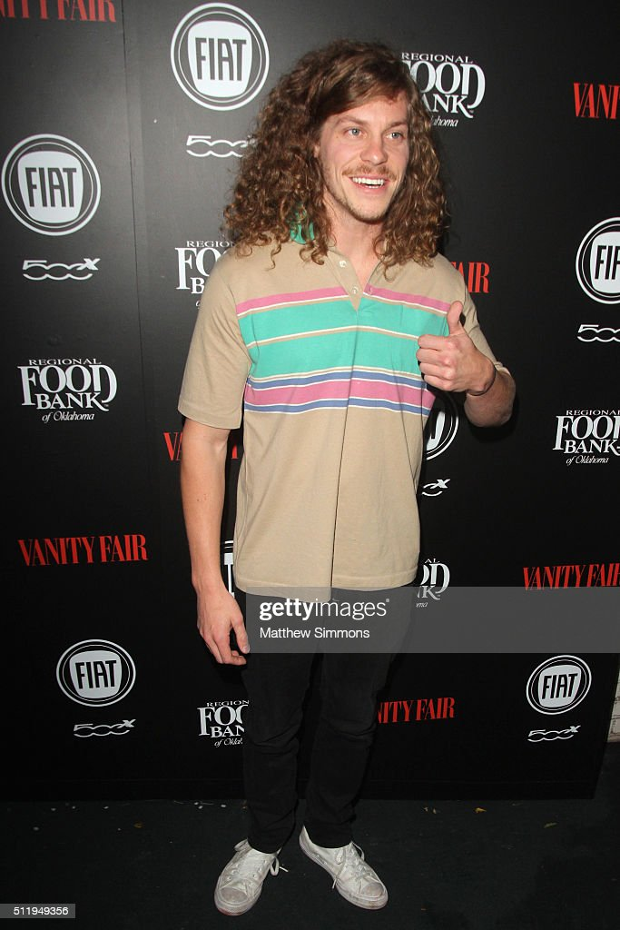 Actor Blake Anderson attends Vanity Fair and FIAT Young Hollywood Celebration at Chateau Marmont on February 23, 2016 in Los Angeles, California.