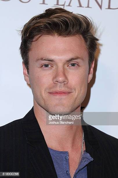 Actor Blake Cooper Griffin arrives at TV Guide Magazine celebrates STARZ's 'Outlander' at Palihouse on March 30 2016 in West Hollywood California