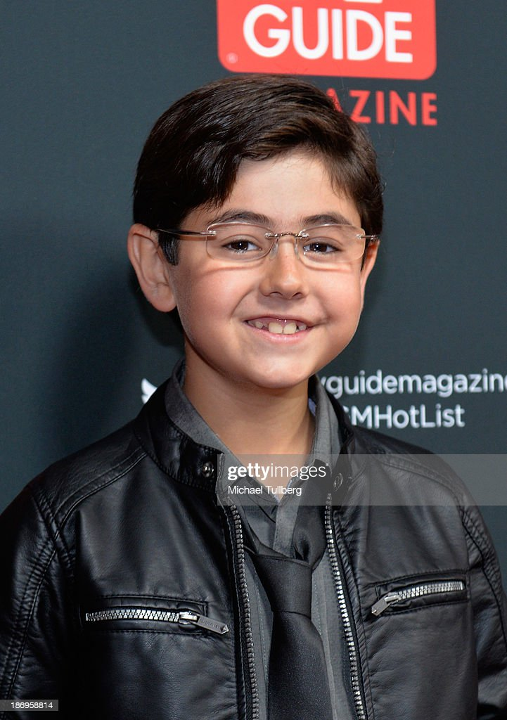 Actor Blake Garrett Rosenthal attends TV Guide Magazine's Annual Hot List Party at The Emerson Theatre on November 4, 2013 in Hollywood, California.