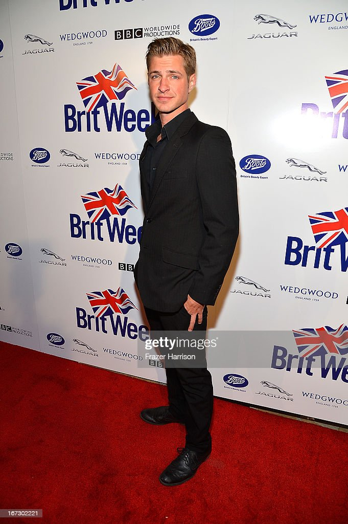 Actor Blake Graves attends the launch of the Seventh Annual BritWeek Festival 'A Salute To Old Hollywood' on April 23, 2013 in Los Angeles, California.