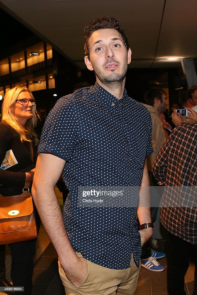 Actor <a gi-track='captionPersonalityLinkClicked' href=/galleries/search?phrase=Blake+Harrison&family=editorial&specificpeople=5800049 ng-click='$event.stopPropagation()'>Blake Harrison</a> arrives at the Queensland Premier of The Inbetweeners 2 at Event Cinemas, Robina on August 12, 2014 in Gold Coast, Australia. The Inbetweeners 2 will be released on 21 August 2014.