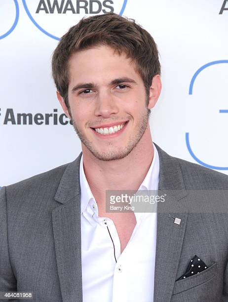 Actor Blake Jenner arrives at the 2015 Film Independent Spirit Awards at Santa Monica Beach on February 21 2015 in Santa Monica California