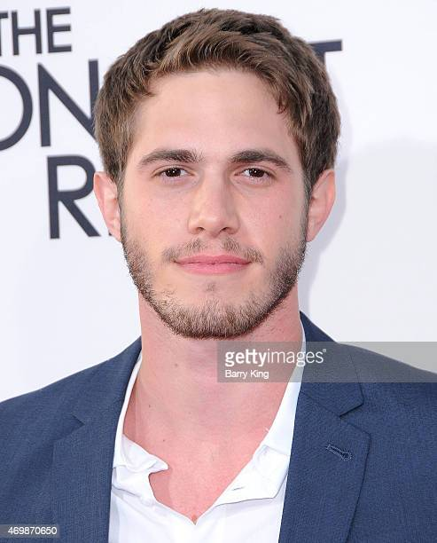 Actor Blake Jenner arrives at the Los Angeles Premiere 'The Longest Ride'at TCL Chinese Theatre IMAX on April 6 2015 in Hollywood California