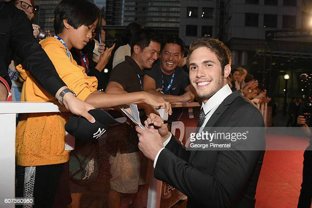 Actor Blake Jenner attends 'The Edge Of Seventeen' premiere during the 2016 Toronto International Film Festival at Roy Thomson Hall on September 17...