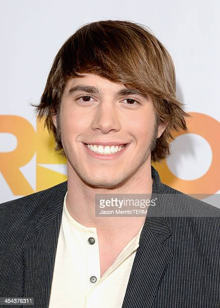 Actor Blake Jenner attends 'TrevorLIVE LA' honoring Jane Lynch and Toyota for the Trevor Project at Hollywood Palladium on December 8 2013 in...