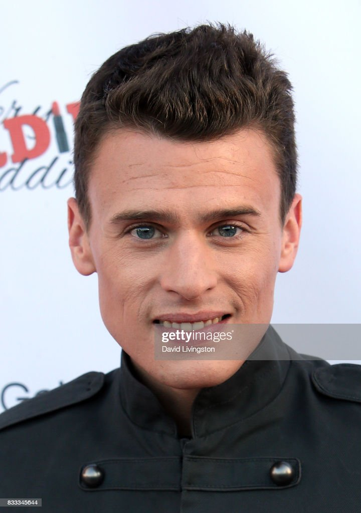 Actor Blake McIver Ewing attends the premiere of Beard Collins Shores Productions' 'A Very Sordid Wedding' at Laemmle's Ahrya Fine Arts Theatre on August 16, 2017 in Beverly Hills, California.