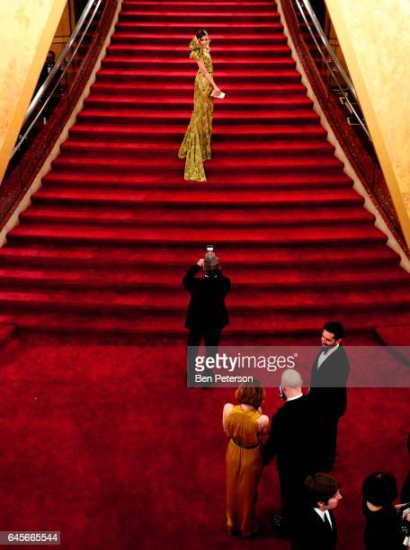 Actor Blanca Blanco attends the 89th Annual Academy Awards at Hollywood Highland Center on February 26 2017 in Hollywood California