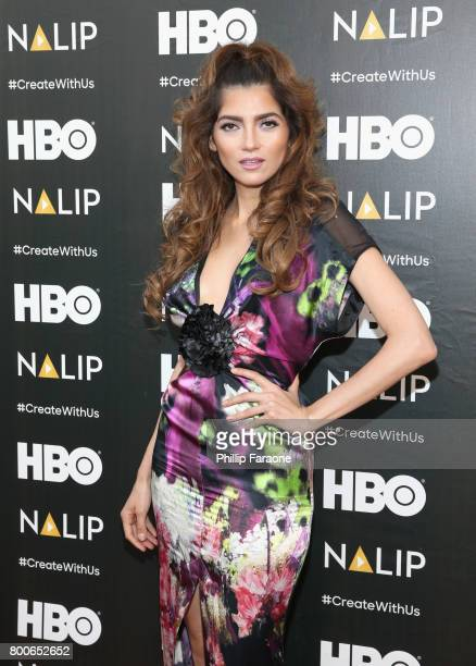 Actor Blanca Blanco attends the NALIP Latino Media Awards at The Ray Dolby Ballroom at Hollywood Highland Center on June 24 2017 in Hollywood...