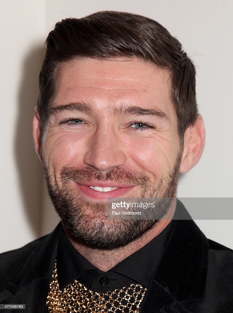 Actor Bo Roberts attends Alexander Yulish 'An Unquiet Mind' VIP Opening Reception at KM Fine Arts LA Studio on March 8, 2014 in Los Angeles, California.