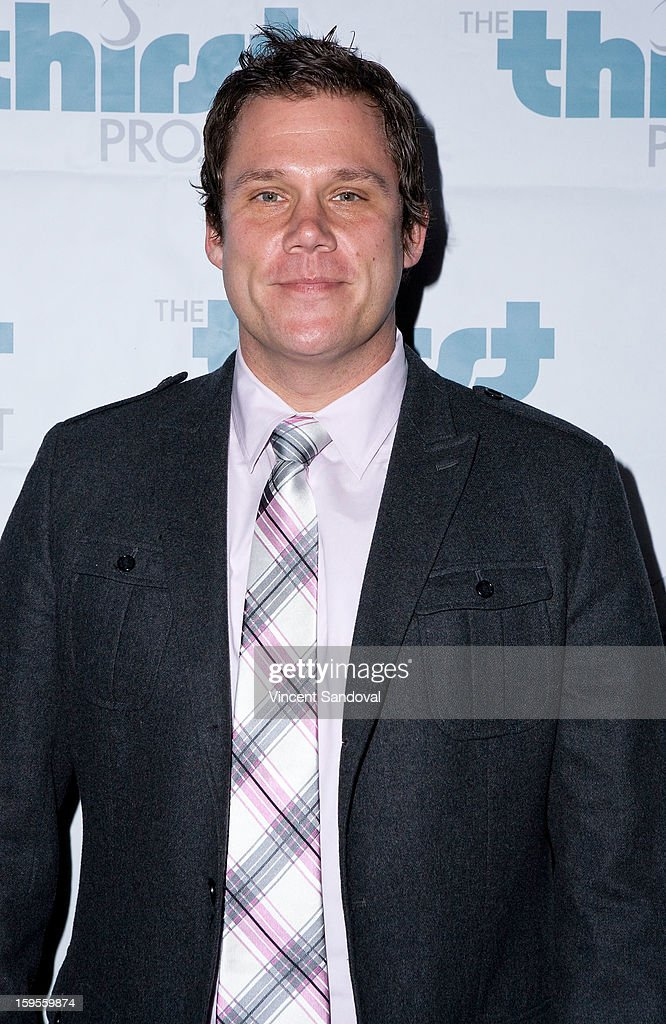 Actor Bob Guiney attends the Thirst Project charity cocktail party at Lexington Social House on January 15, 2013 in Hollywood, California.