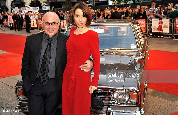Actor Bob Hoskins and actress Sally Hawkins attend the 'Made in Dagenham' world premiere at the Odeon Leicester Square on September 20 2010 in London...