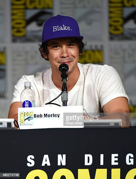 Actor Bob Morley attends a special video presentation and panel for 'The 100' during ComicCon International 2015 at the San Diego Convention Center...