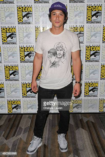 Actor Bob Morley attends the 'The 100' press room during day 2 of ComicCon International on July 10 2015 in San Diego California
