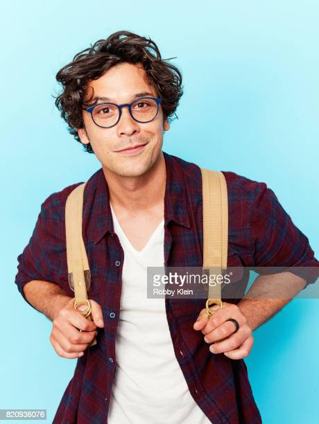 Actor Bob Morley poses for a portrait during ComicCon 2017 at Hard Rock Hotel San Diego on July 21 2017 in San Diego California