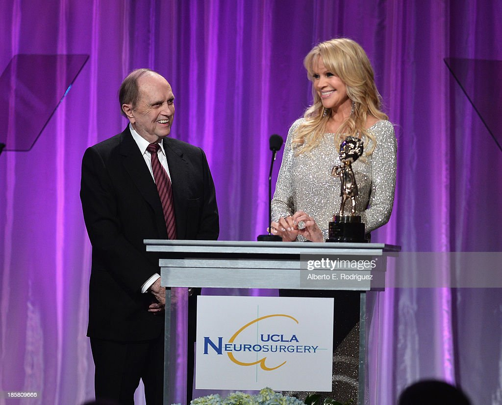 Actor Bob Newhart and producer Joan Dangerfield attend the 2013 UCLA Neurosurgery Visionary Ball at the Beverly Wilshire Four Seasons Hotel on October 24, 2013 in Beverly Hills, California.