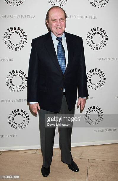 Actor Bob Newhart attends The Paley Center for Media's honoring of his 50th anniversary in show business on October 6 2010 in Beverly Hills California