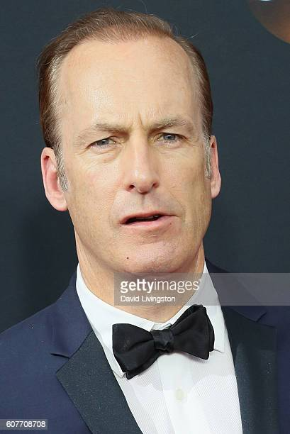 Actor Bob Odenkirk arrives at the 68th Annual Primetime Emmy Awards at the Microsoft Theater on September 18 2016 in Los Angeles California
