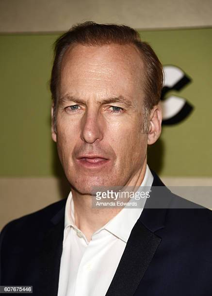 Actor Bob Odenkirk arrives at the AMC Networks' 68th Primetime Emmy Awards AfterParty Celebration at BOA Steakhouse on September 18 2016 in West...