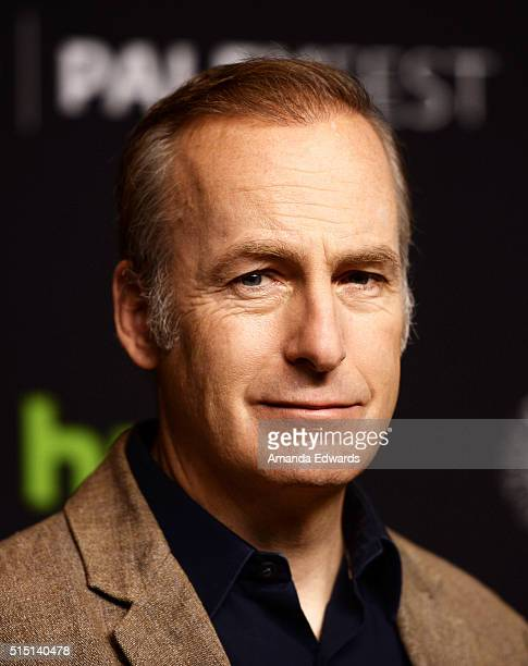 Actor Bob Odenkirk arrives at The Paley Center For Media's 33rd Annual PaleyFest Los Angeles presentation of 'Better Call Saul' at the Dolby Theatre...