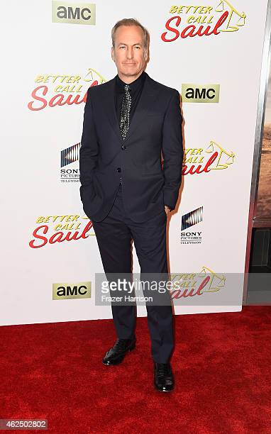 Actor Bob Odenkirk arrives at the Series Premiere Of AMC's 'Better Call Saul' at Regal Cinemas LA Live on January 29 2015 in Los Angeles California