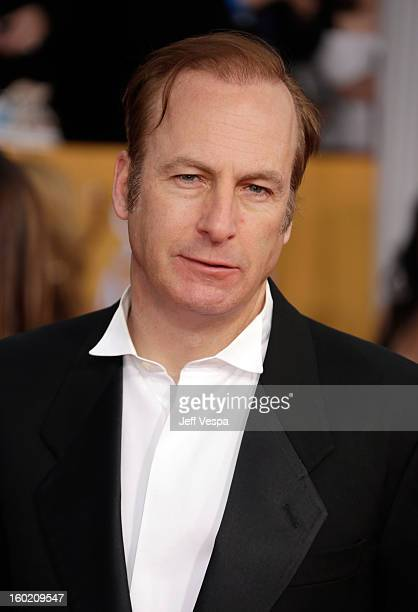 Actor Bob Odenkirk arrives at the19th Annual Screen Actors Guild Awards held at The Shrine Auditorium on January 27 2013 in Los Angeles California