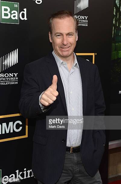 Actor Bob Odenkirk attends AMC's 'Breaking Bad' Season 5 Premiere during ComicCon International 2012 at Reading Cinemas Gaslamp on July 14 2012 in...