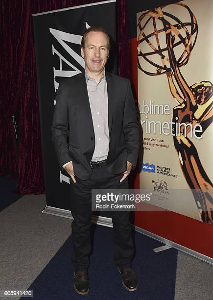 Actor Bob Odenkirk attends Sublime Primetime 2016 at the Writers Guild Theater on September 15 2016 in Beverly Hills California