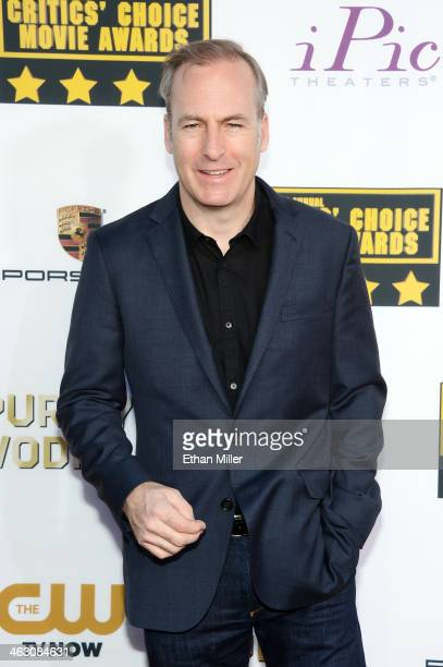 Actor Bob Odenkirk attends the 19th Annual Critics' Choice Movie Awards at Barker Hangar on January 16 2014 in Santa Monica California