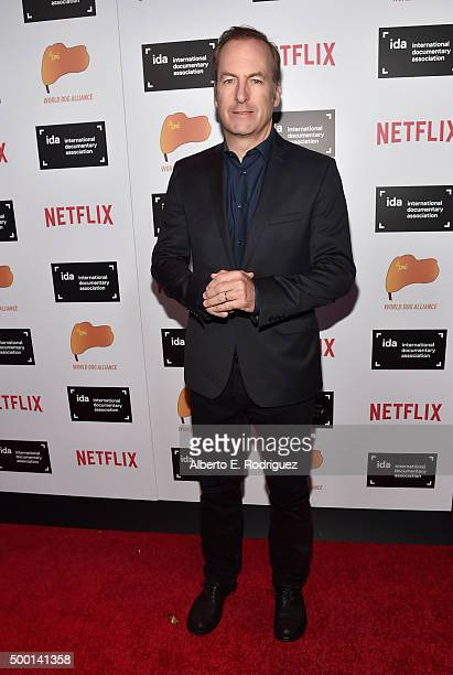 Actor Bob Odenkirk attends the 2015 IDA Documentary Awards at Paramount Studios on December 5 2015 in Hollywood California