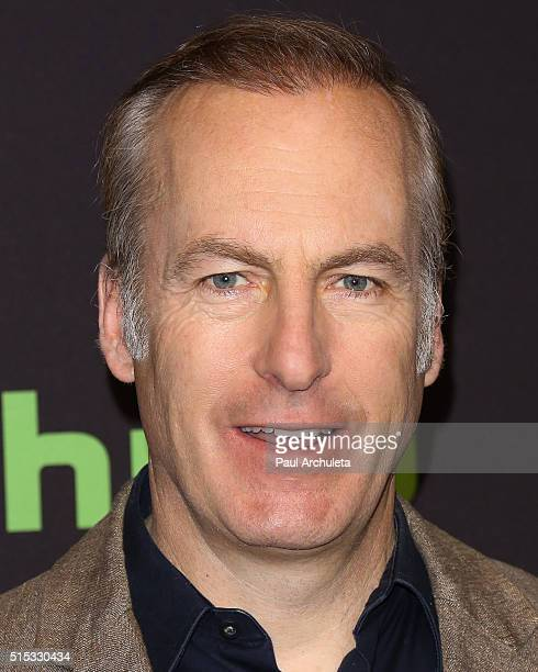 Actor Bob Odenkirk attends the 33rd Annual PaleyFest Los Angeles featuring 'Better Call Saul' at The Dolby Theatre on March 12 2016 in Hollywood...
