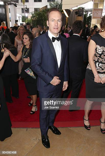 Actor Bob Odenkirk attends the 73rd Annual Golden Globe Awards held at the Beverly Hilton Hotel on January 10 2016 in Beverly Hills California