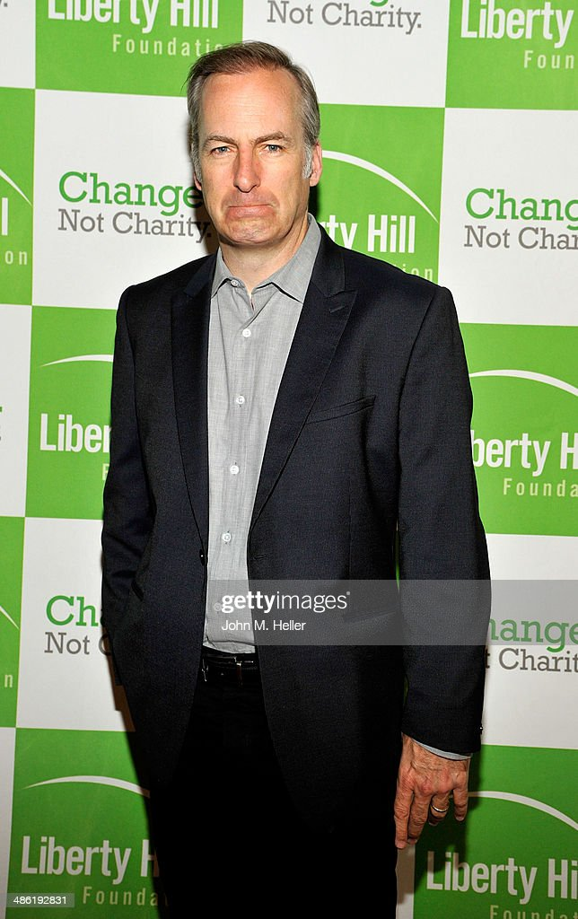 Actor <a gi-track='captionPersonalityLinkClicked' href=/galleries/search?phrase=Bob+Odenkirk&family=editorial&specificpeople=2994139 ng-click='$event.stopPropagation()'>Bob Odenkirk</a> attends the Liberty Hill's Upton Sinclair Awards dinner at The Beverly Hilton Hotel on April 22, 2014 in Beverly Hills, California.