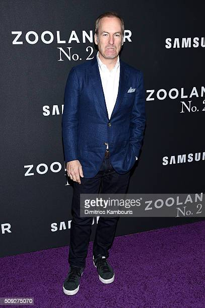Actor Bob Odenkirk attends the 'Zoolander 2' World Premiere at Alice Tully Hall on February 9 2016 in New York City